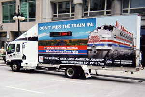 build out mobile billboards