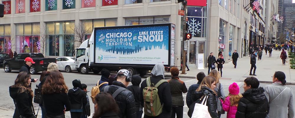 mobile billboard Chicago