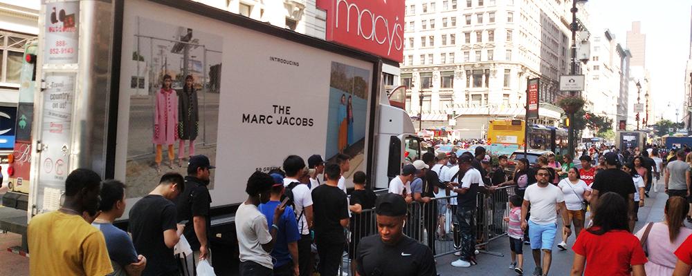 mobile billboard NYC