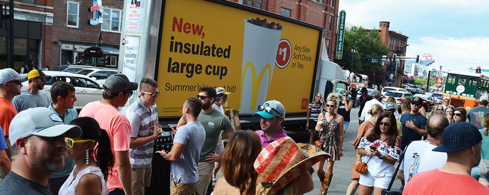 mobile billboard Nashville