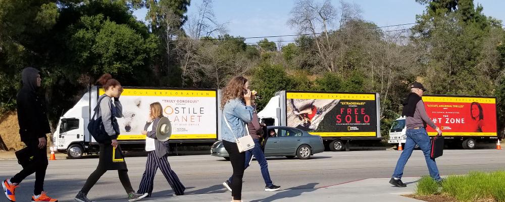 mobile billboard LA