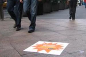 street decals advertising
