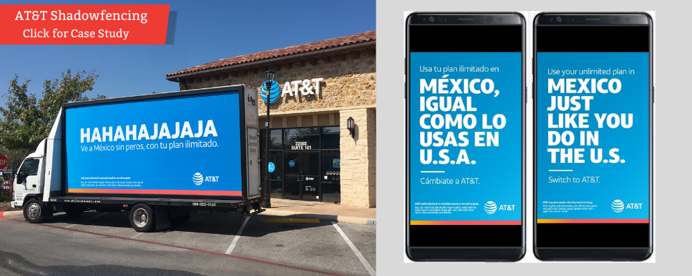 AT&T Shadowfencing Campaign